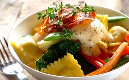 Healthy Vegetable Pasta Pillows | Light and Bright | Pinterest