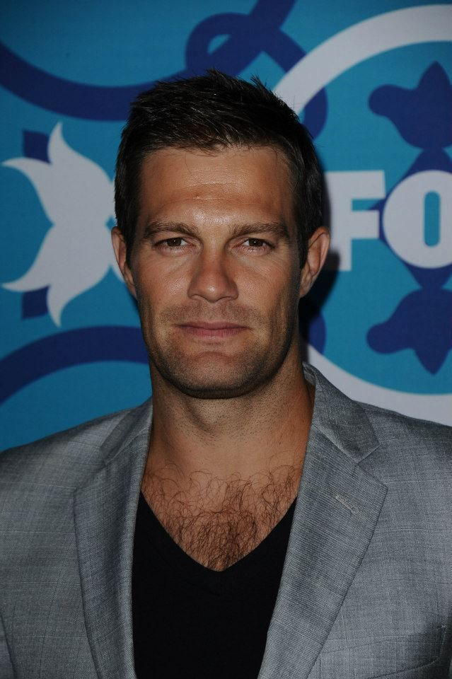 There's a million leading men on TV today that by Geoff ... Geoff Stults Enlisted