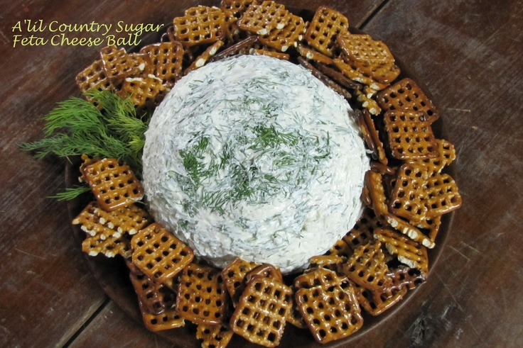 Feta Cheese Ball | Balls of Cheese | Pinterest