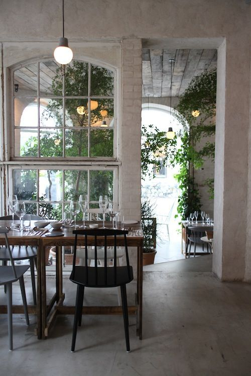 "DENMARK - Copenhagen: ""Höst"" (urban farming restaurant).In September 2013 Höst won ""The World's Best Design Restaurant"" award at the annual Bar & Restaurant Design Awards in London. It was the first time ever a Danish restaurant received the award. At Höst the classic virtues of Nordic cooking finds its contemporary counterpart."