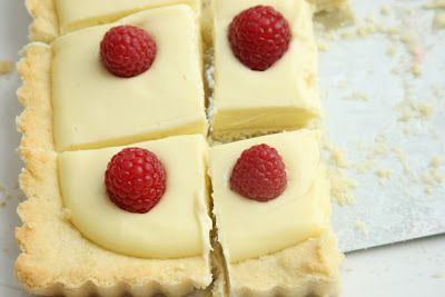 The Most Extraordinary French Lemon Cream Tart with Fresh Raspberries - Have lemons? You must make this Dorie Greenspan recipe.