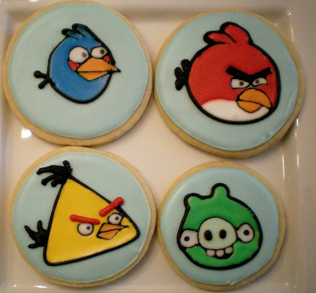 angry birds cookies for sale