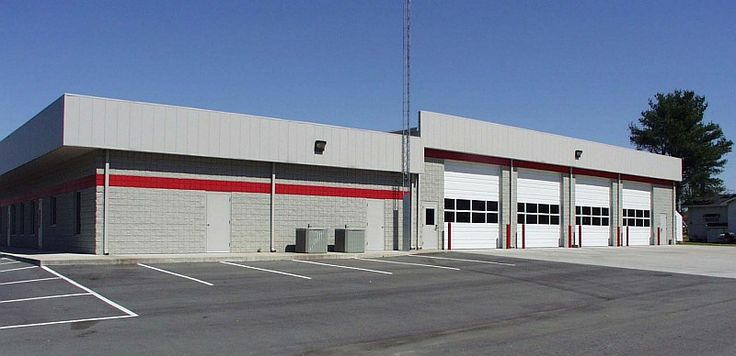 Bobbitt Built The 9 823 Square Foot Kenly Fire Department