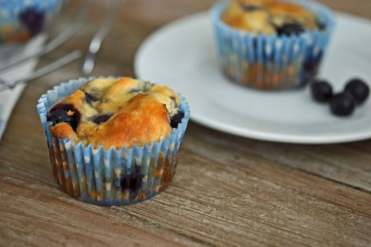Blueberry Muffins | Gluten Free Breads and Breakfasts | Pinterest