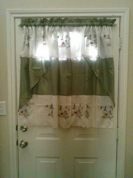 Curtain For Door With Half Window