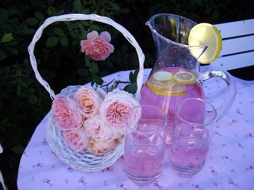 Rosewater Lemonade | recipes | Pinterest