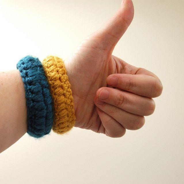 Вязание браслетов для начинающих