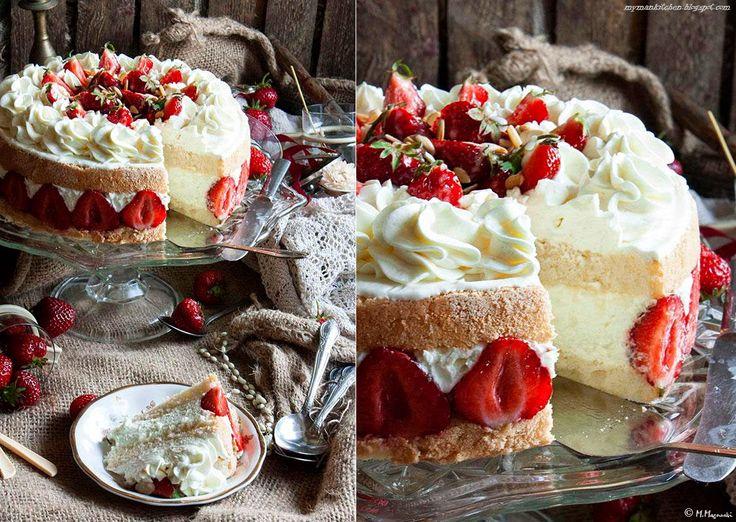 Strawberry Torte | Cakes | Pinterest