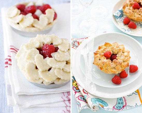 mini raspberry heart pies | recipes | Pinterest