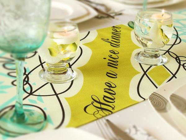 Cushion Design Sofra Tasarımı #runner #table www.cushiondesign.com