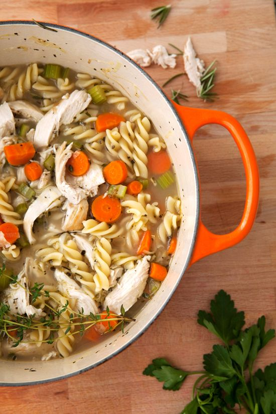 the perfect chicken noodle soup recipe | food | Pinterest