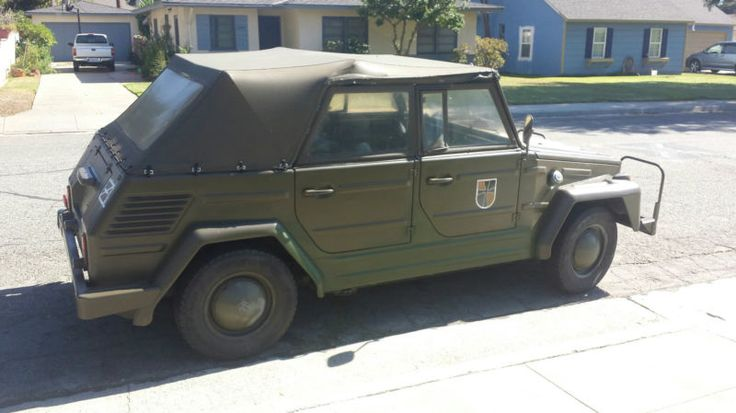 Volkswagen Thing Ex German Military