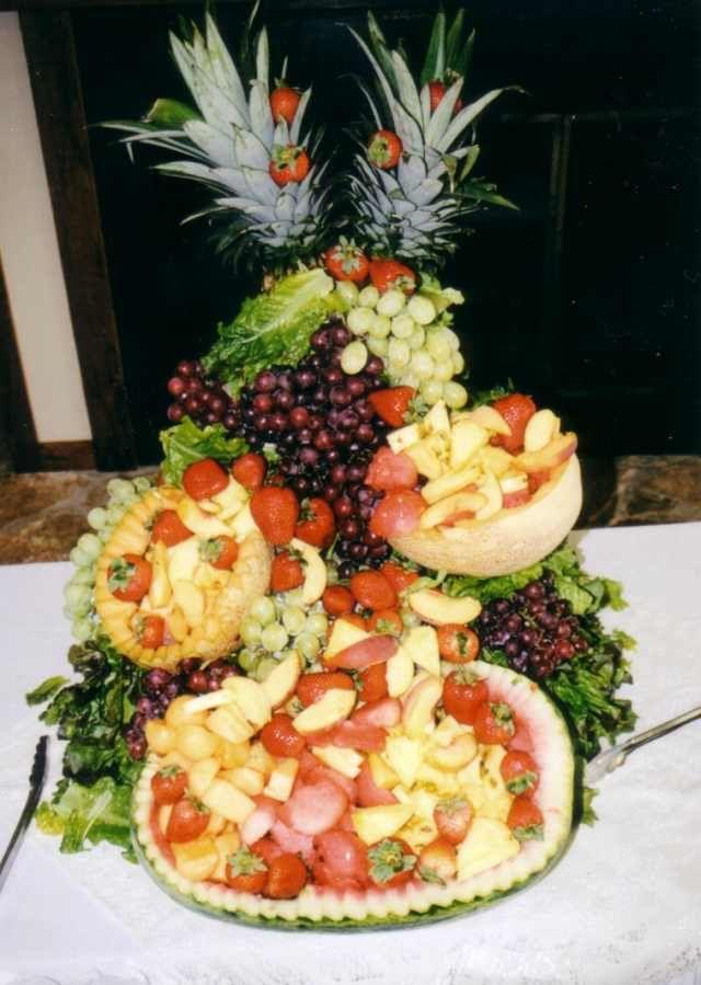 Creative fruit displays