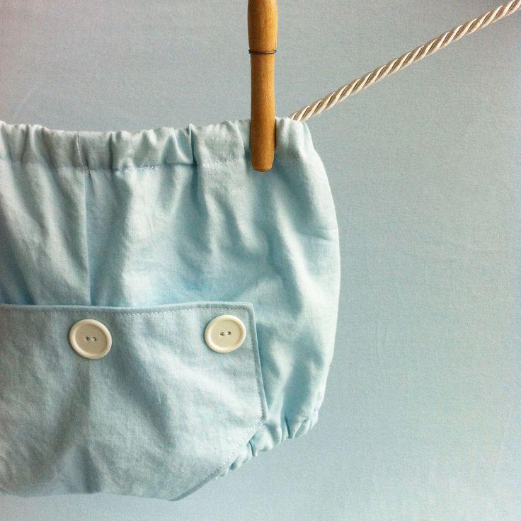 Baby Blue Long John Diaper Covers. $20.00.