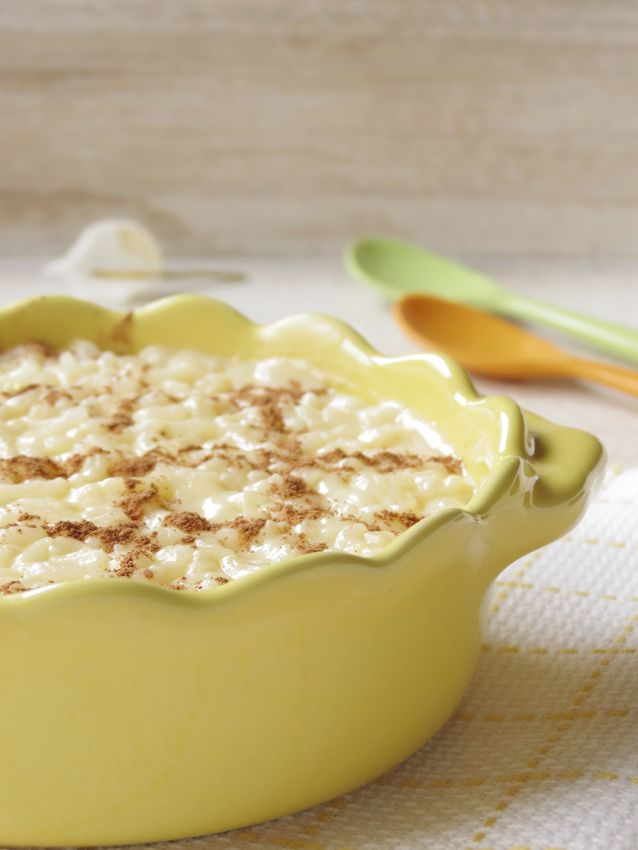 Portuguese Rice Pudding / Arroz Doce | Just Desserts | Pinterest