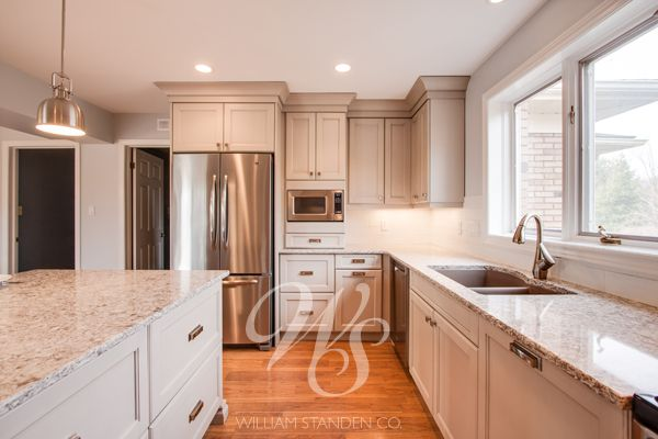 Oyster Grey Kitchen Cabinets