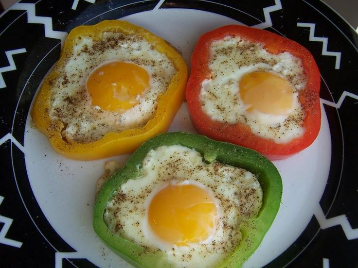 Flower Power Eggs – Bell Pepper Ring Molds for Sunny Side Up Eggs ...