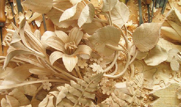 Wonderful wood carvings