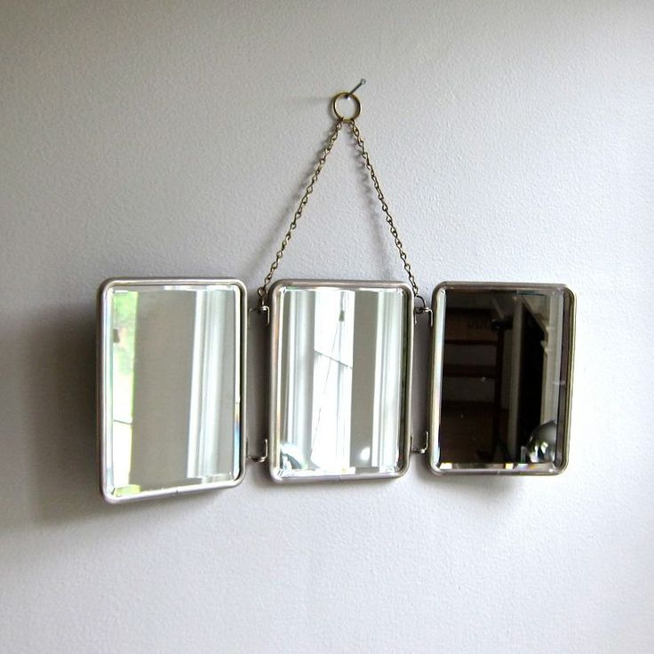Vintage folding travel mirror specchi pinterest for Miroir de voyage