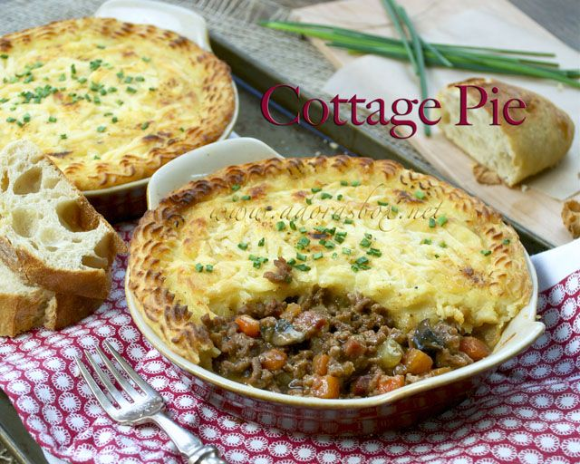 Cottage Pie | cooking | Pinterest