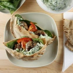 Mini Greek Lamb Burgers: A different way to enjoy burgers, paired with ...