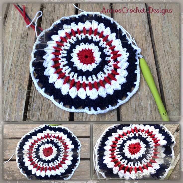 fourth of july crochet outfit