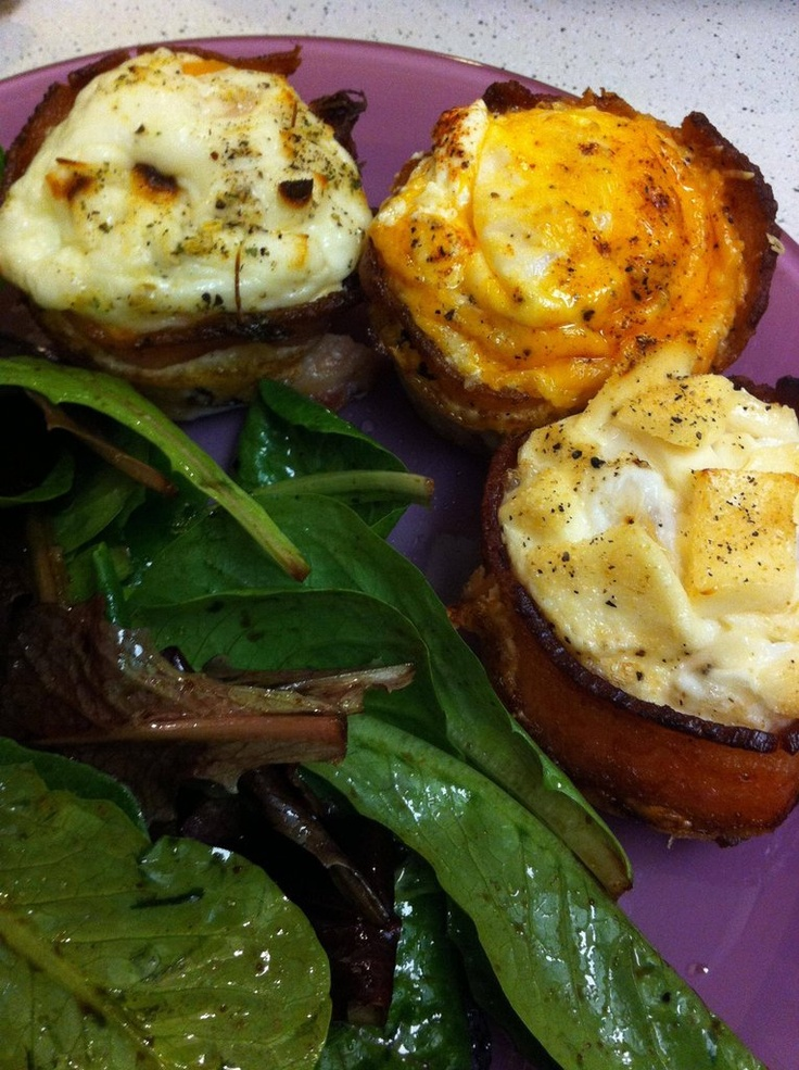 Bacon-wrapped Eggs | Low-Carb Yummies | Pinterest