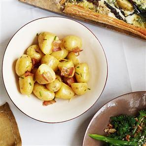 Warm bacon & potato salad | Food & Drink that I love | Pinterest