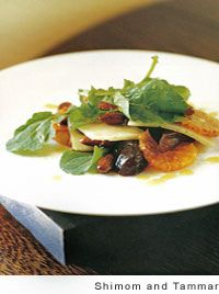 Salad of Blood Oranges, Dates, Parmesan, and Almonds