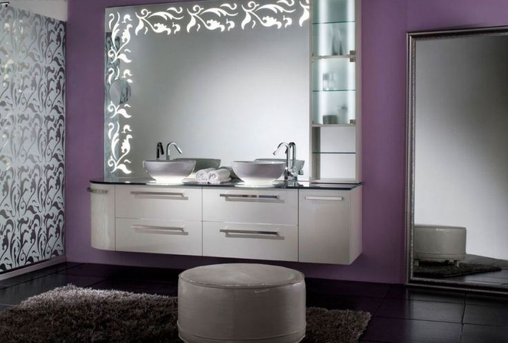 Natty bathroom decor with victory vanities KBHomes Austin
