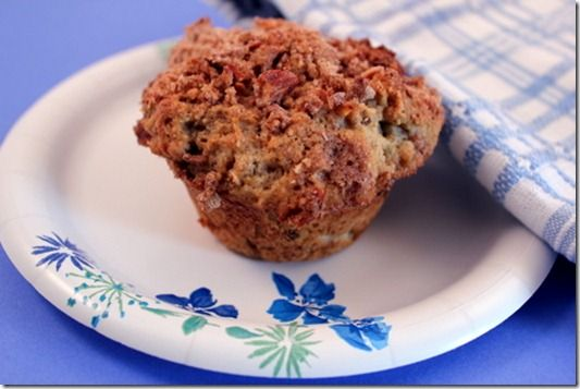 Rhubarb Streusel Muffins | Delicioso - Sweets | Pinterest