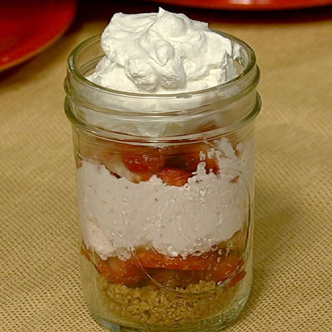 the chew | Recipe | Carla Hall's Strawberry Lemonade Icebox Pie