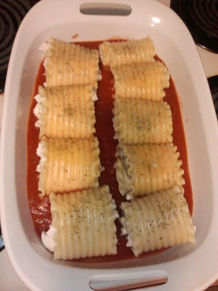 Chicken & Cheese Lasagna Roll Ups | Recipes to cook/try | Pinterest