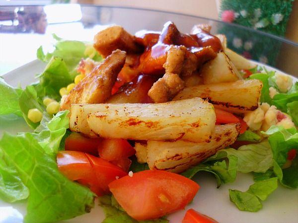 Pin by Christy Burch on Rabbit food: Main Dish Salads ...