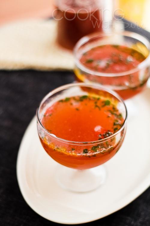 Strawberry Balsamic Basil Soda | Drinks | Pinterest