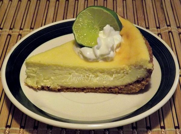 Lime Cheesecake | Cheesecakes ~~~ Oh my my !! | Pinterest