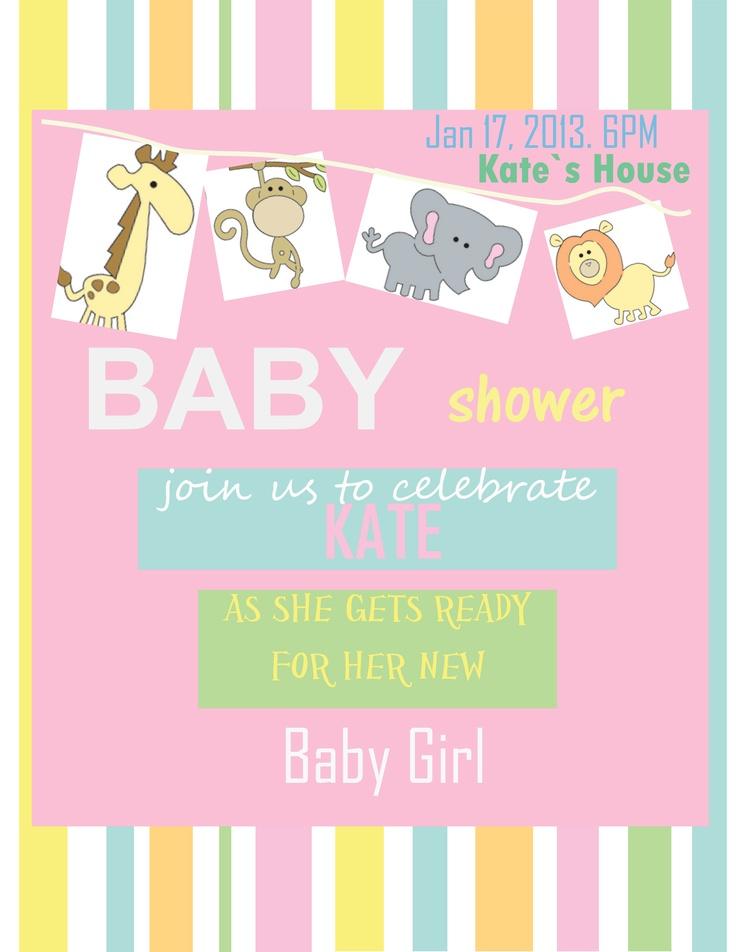 baby shower invitation baby shower pinterest