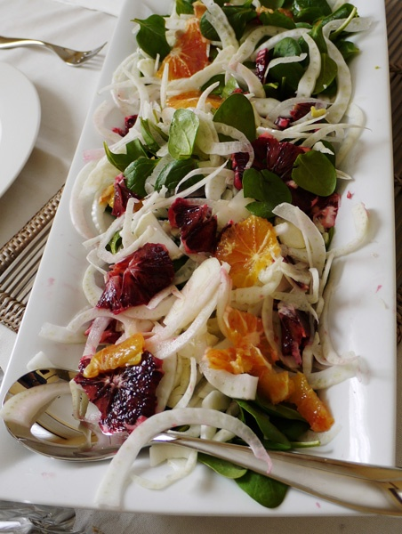 Blood orange and fennel salad | Edible Beauty | Pinterest