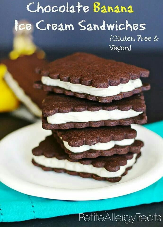 Gluten free ice cream sandwiches | Sweets | Pinterest