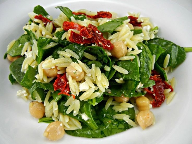 Spinach And Orzo Salad Recipes — Dishmaps