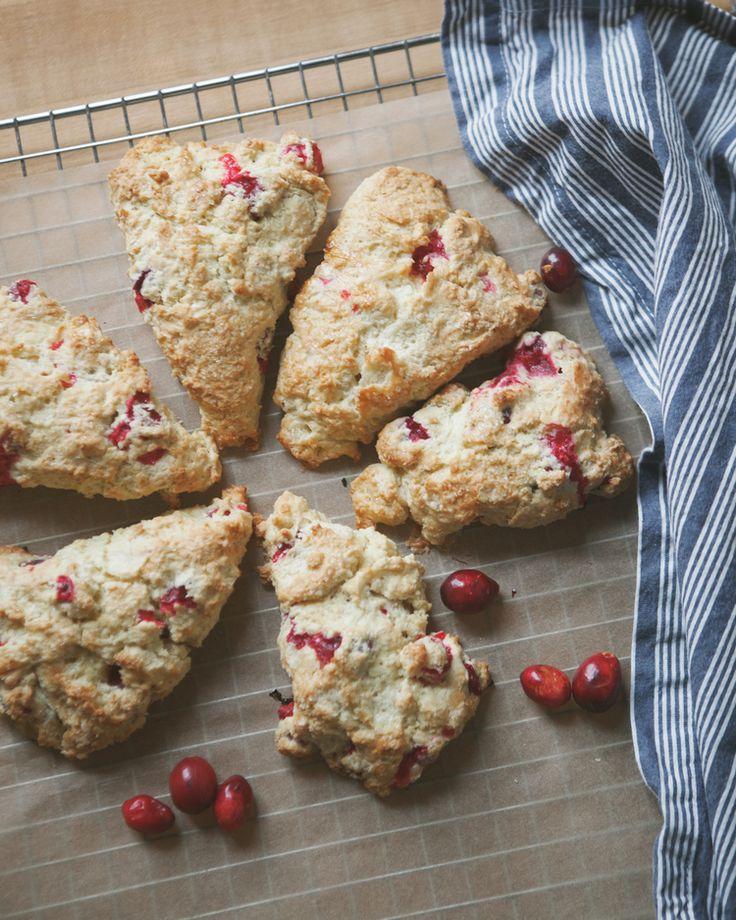 Lemon Cranberry Scones Recipes — Dishmaps