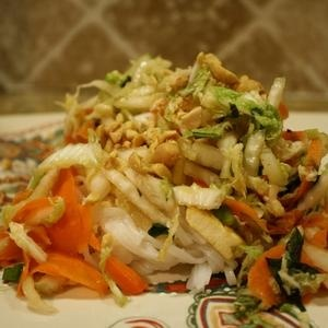 Vietnamese Noodle salad | Let's Get Cooking | Pinterest