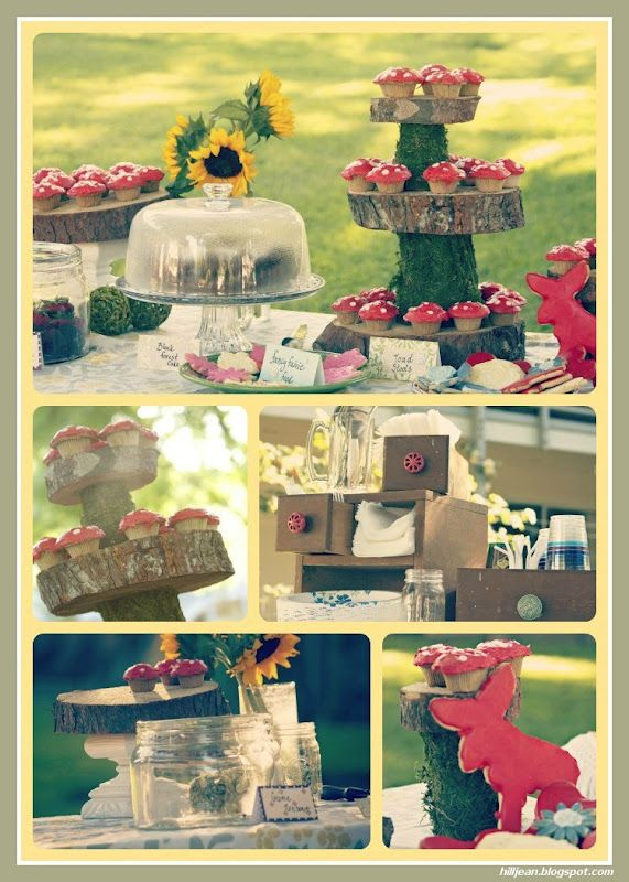 woodland themed baby shower girl themes pinterest