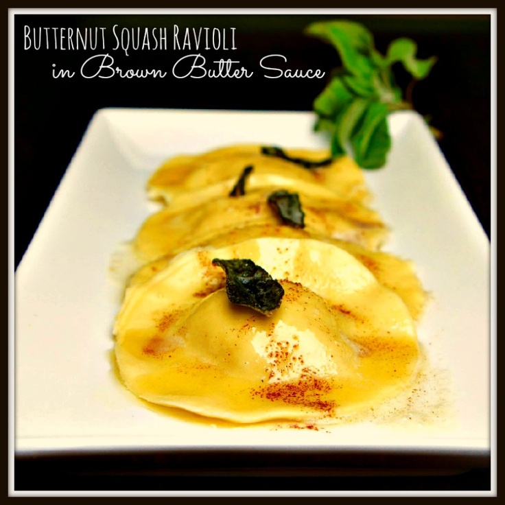 More like this: ravioli , butternut squash and squashes .