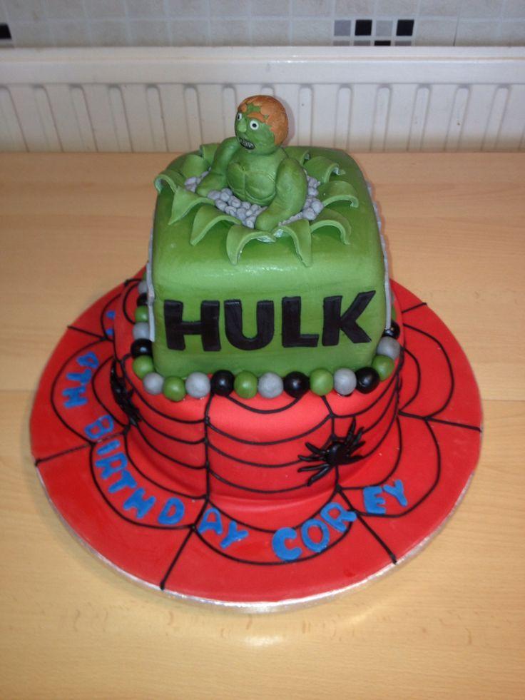 Spider Man Cake Board