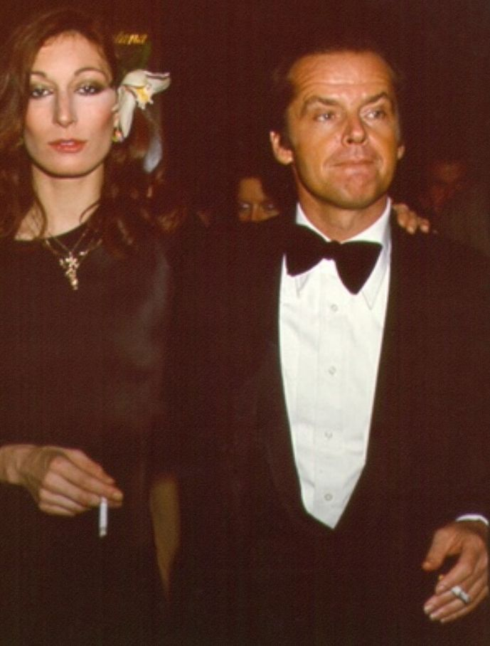 Angelica Houston & Jack Nicholson • 1970s