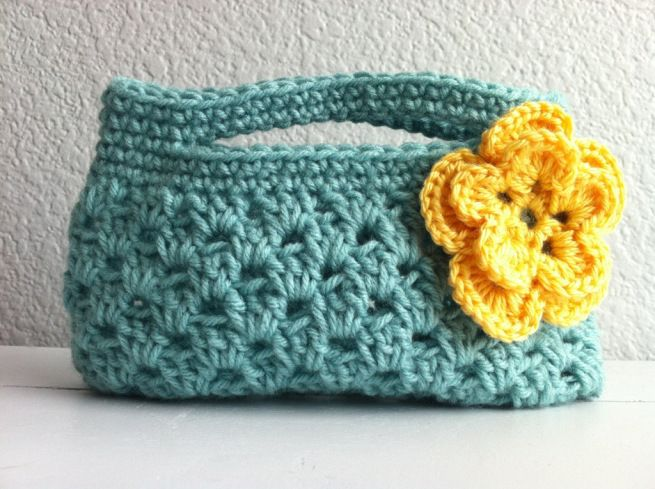 Crochet clutch, needs a liner Crochet Projects Pinterest