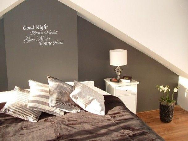 Ideeen Voor Slaapkamer Muur : Tekst voor op de slaapkamer muur attic ...