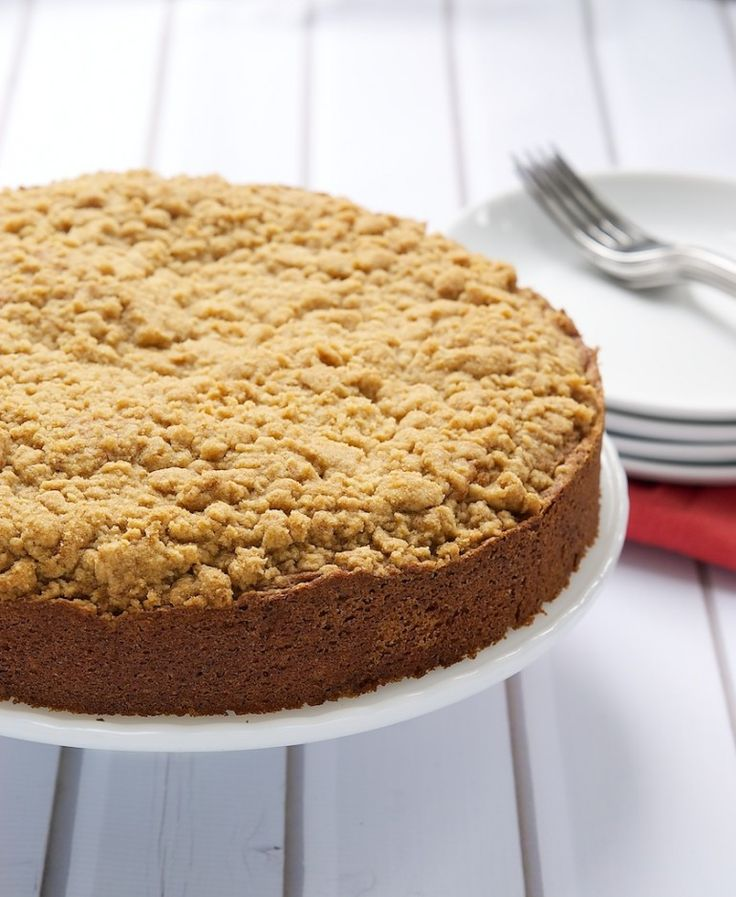 Bake or Break | Brown Butter Sour Cream Crumb Cake