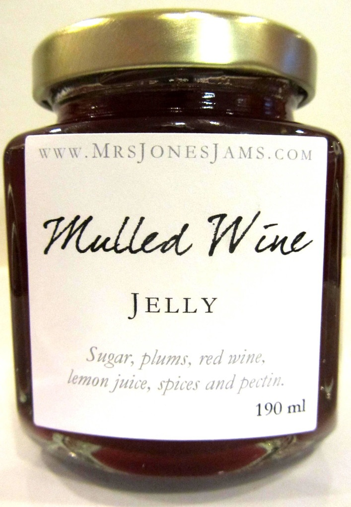 Mulled Wine Jelly - Mrs Jones' Jams | Jam On It!! | Pinterest